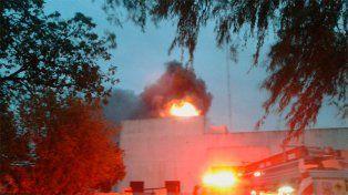 Se incendió un Frigorífico de caballos de Gualeguay