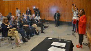 Casos judiciales. Maciel dio detalles de las coberturas y las experiencias informativas. Foto: Juan Manuel Hernández