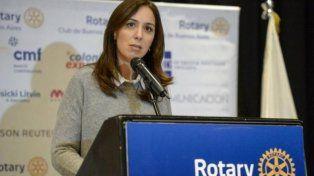 La gobernadora Vidal y una polémica frase sobre las universidades y los pobres