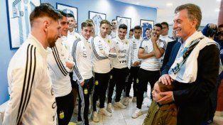 Macri a Messi: Será lo que tenga que ser