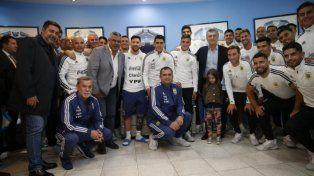 Los cinco jugadores que no se sacaron la foto con Macri