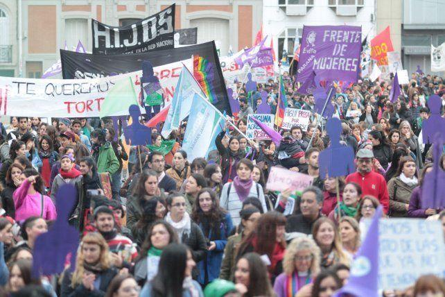 Al grito de Ni Una Menos, este lunes las mujeres volverán a copar las calles