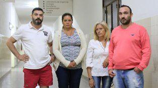 Defraudados. La familia de la víctima no recibió la respuesta que esperaban de la Policía y la Fiscalía.