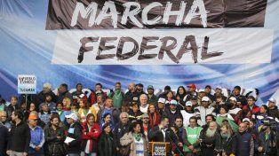 La Marcha Federal le puso más presión a la CGT para que convoque a un paro general