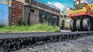 Red vial. Se prevén pavimentar unos 1.500 metros de tres calles.