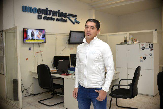 De visita. Diego Buschiazzo