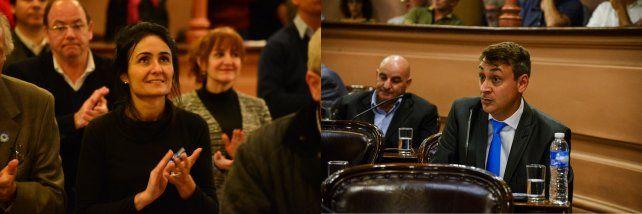 Viola habló de tratamiento inmediato. Lara sostuvo que el pedido ingresó recién ayer a la comisión.