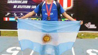 El deportista quiere llegar al certamen internacional.