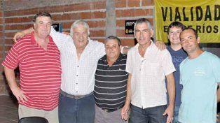 Lallana recibió el apoyo en toda la provincia de cara a las elecciones del Soever