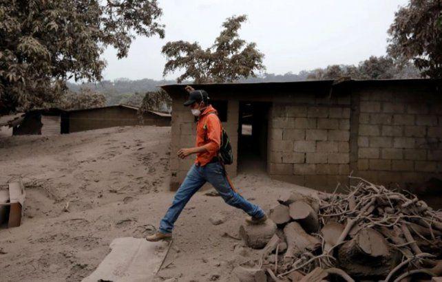 Erupción del volcán de Fuego en Guatemala: más de 60 muertos