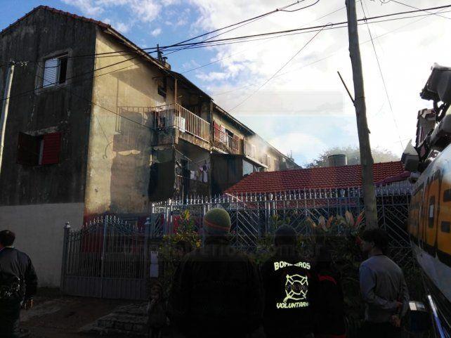 La provincia cubrirá los daños ocasionados por el incendio de dos viviendas