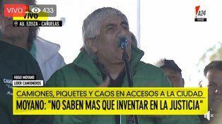 Moyano anunció un paro para el jueves 14 si no tienen respuestas del Gobierno