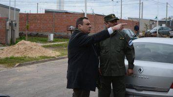 el intendente de san benito esta exultante con la llegada de gendarmeria