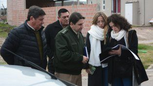 El intendente de San Benito está exultante con la llegada de Gendarmería