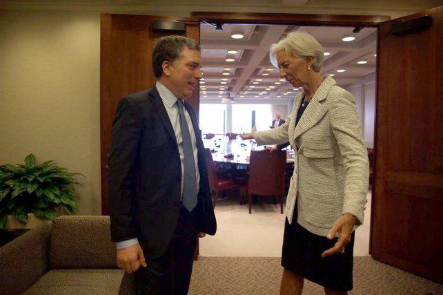 La directora Gerente del Fondo Monetario