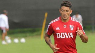 Milton Casco salió campeón de la Supercopa Argentina con River.