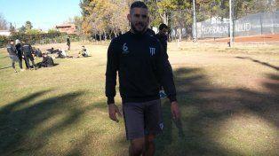 El vialense Yair Marín es el capitán de Gimnasia de Mendoza