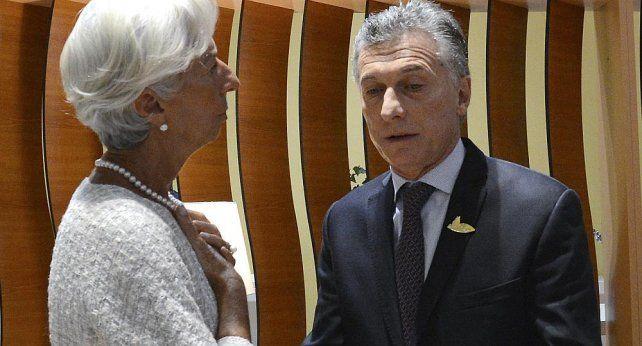 Macri se reunirá con la titular del FMI en Canadá