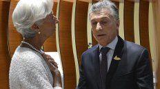 macri se reunira con la titular del fmi en canada