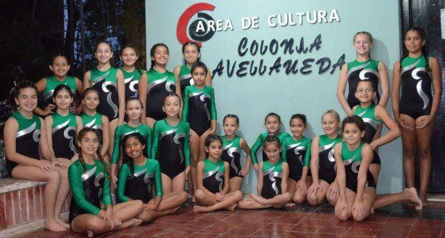 Hay equipo. Parte del grupo que entrena en Colonia Avellaneda y que disfruta de ser parte de esta actividad que busca crecer