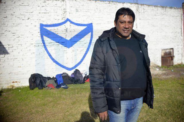 <b>Un gran recuerdo.</b> Darío Albertini rememoró la gestión de su padre Enrique en la <i>V Azulada.</i>
