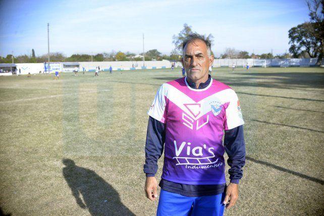 <b>El Mago.</b> Sergio Barrios habló de su pasado como jugador.&amp;nbsp;