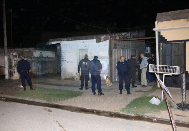 La noche del homicidio de María Teresa Rondán