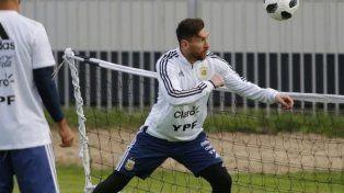 Argentina ya se movió en Rusia