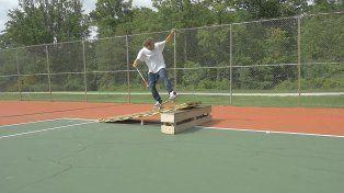 La historia del skater ciego Dan Mancina