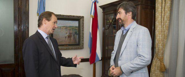 Giano respaldó la decisión de Bordet de no afectar a trabajadores y jubilados por el acuerdo con el FMI