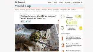Sorpresa en Gran Bretaña porque la selección de Inglaterra toma mate