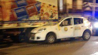 Un taxi y dos choques en pocas horas