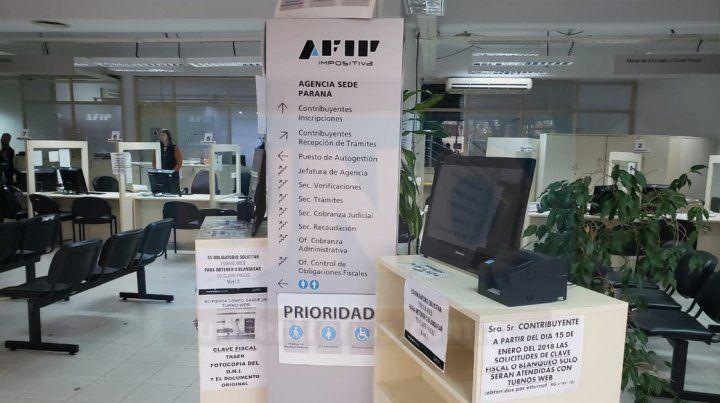Trabajadores de AFIP realizan medidas de fuerza por el congelamiento salarial