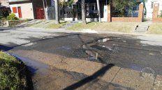 El pozo-piquete. Esquina de Amaya y Gesino del barrio Santa Lucía