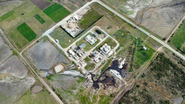 Nogoyá: denuncian impresionante contaminación de parte de una industria