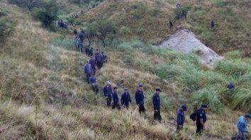 Escena criminal. En el campo de la estancia Puerto Buey, los cazadores hirieron de muerte al policía López.