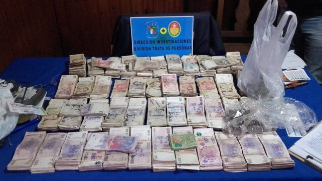 Juegos ilegales. Al acusado de 67 años se le incautaron casi 200 mil pesos.