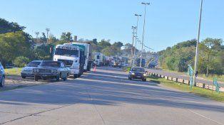 Paro de camioneros. Acceso Norte de Paraná sin interrupciones en el tránsito