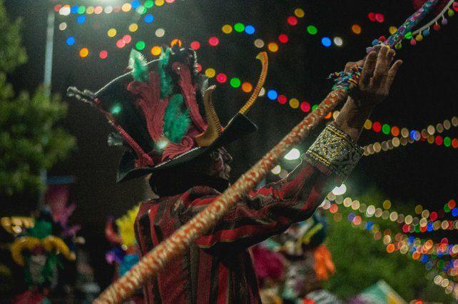 En el carnaval recibieron el aval del público.