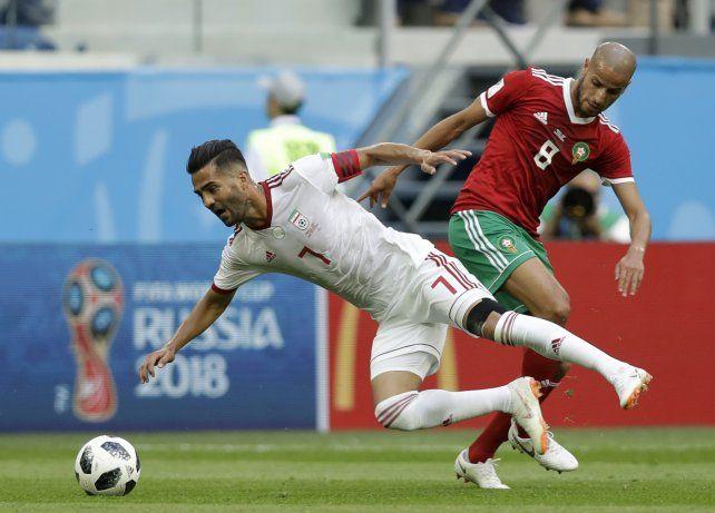 Irán consiguió una victoria agónica ante Marruecos