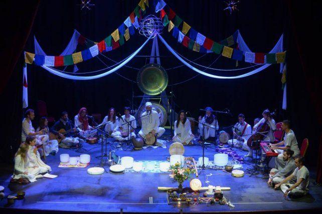 El viaje de la Kundalini en escena.