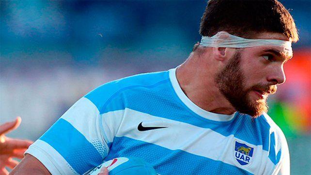 El jugador nacido en Espinillos forma parte del 15 ideal de la cuarta fecha del RugbyChampionship