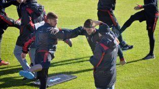 Patronato volvió a los entrenamientos pensando en la Superliga