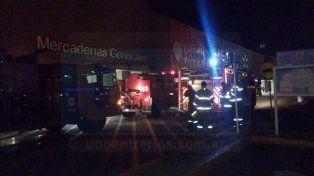 Incendio en hipermercado de Paraná causó gran revuelo y preocupación