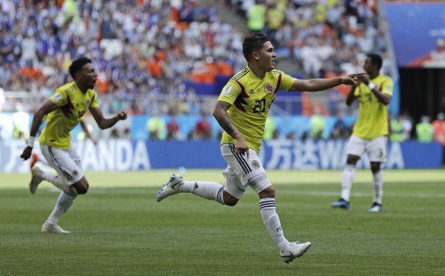 Japón sorprendió a Colombia