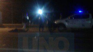 Choque fatal. En uno de los ingresos a San Benito se produjo el incidente vial.