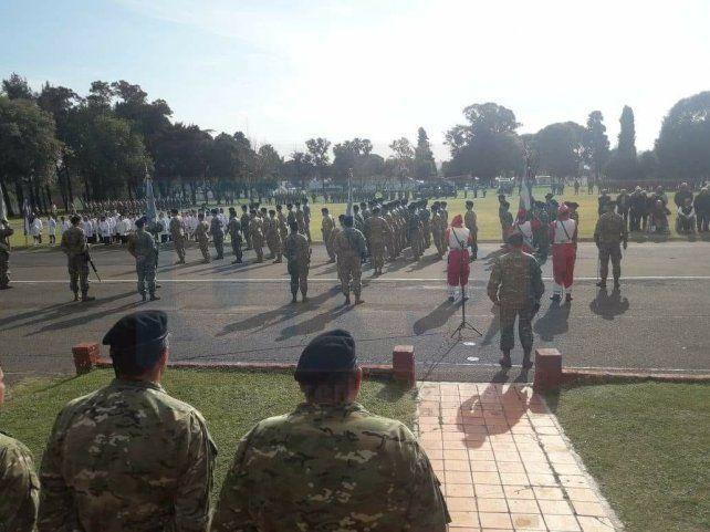 Juraron la Bandera 67 soldados del Ejército Argentino