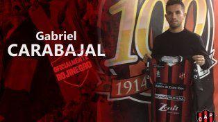 Gabriel Carabajal es el nuevo refuerzo de Patronato
