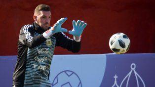 Armani será titular en el arco de Argentina ante Nigeria