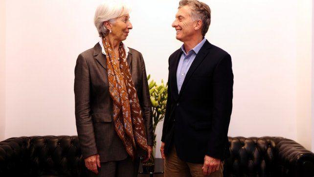 Préstamo. La titular del FMI